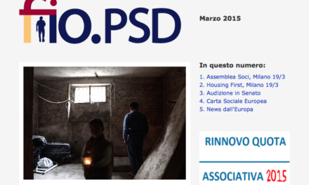 Newsletter fio.PSD – Marzo 2015