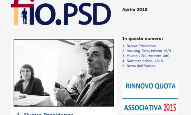 Newsletter fio.PSD – Aprile 2015
