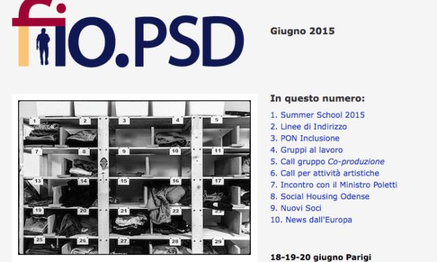 Newsletter fio.PSD – giugno 2015