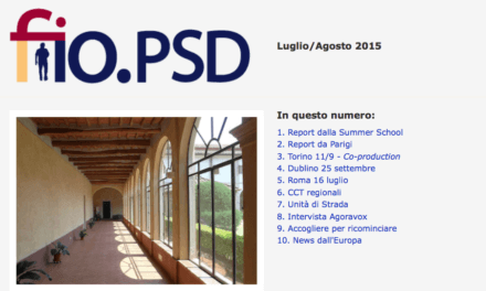 Newsletter fio.PSD – luglio/agosto 2015