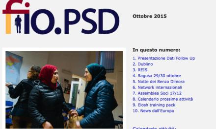 Newsletter fio.PSD – ottobre 2015