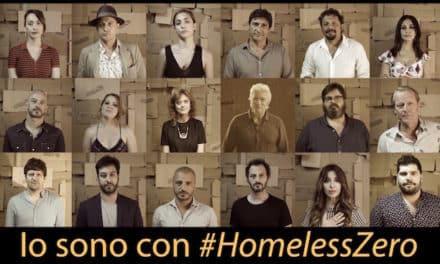 """CS video """"Io sono con #HomelessZero"""""""