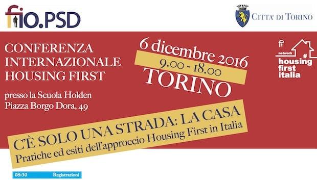 6/12 – Conferenza Internazionale Housing First (Torino)