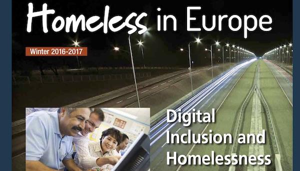 L'inclusion et les sans-abri numérique