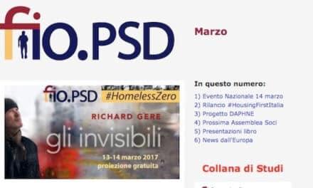 Newsletter fio.PSD – marzo 2017