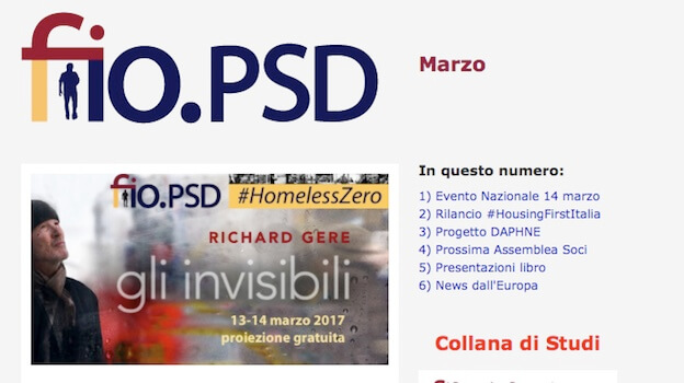 Newsletter fio.PSD – marzo 2017
