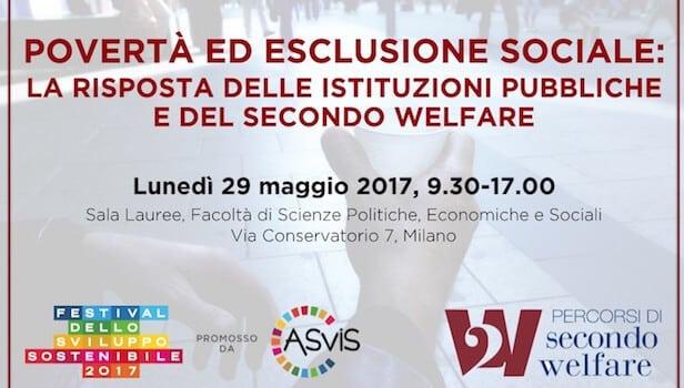 "29 may – Milan ""Poverty and social exclusion"""