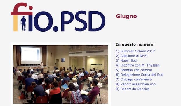 Newsletter fio.PSD – giugno 2017