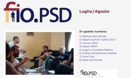 Newsletter fio.PSD – luglio/agosto 2017