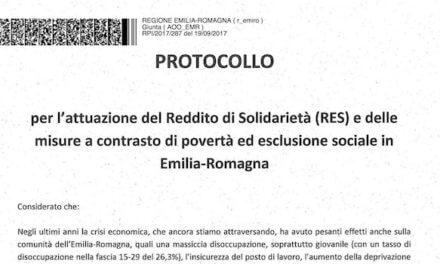 Reddito di solidarietà (RES) in Emilia-Romagna