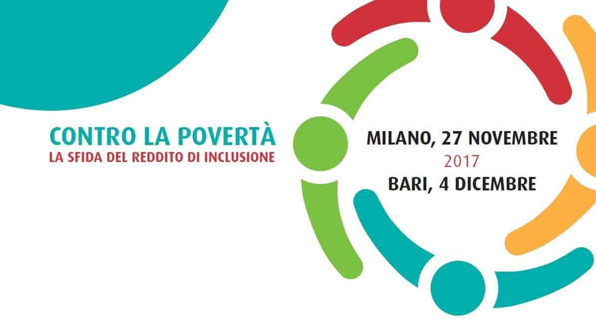 EVENTI:  Contro la Povertà (Milano 27/11 – Bari 4/12)