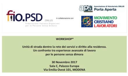 30 novembre , Modena – Workshop GLN