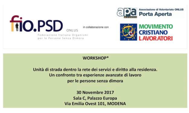 30 November , Modena – Workshop GLN