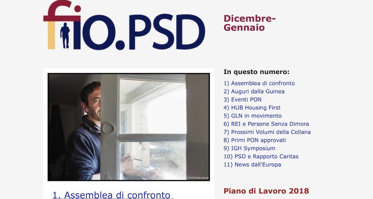 Newsletter fio.PSD – dicembre 2017
