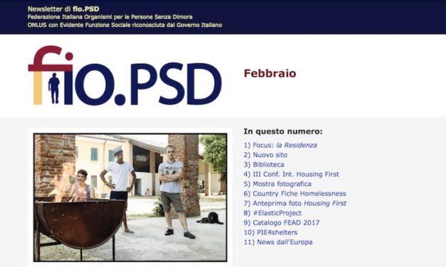 Newsletter fio.PSD – Febbraio 2018