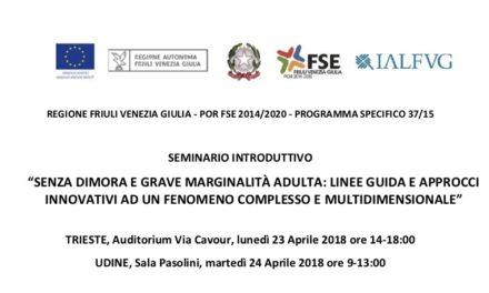23/24 aprile, Trieste e Udine – Seminario