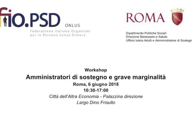 6 Juin, Rome – Directeurs de soutien et la marginalisation sévère