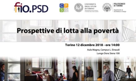 Turin 12 December – Prospects for combating poverty