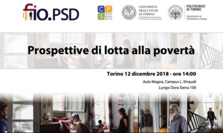 Torino 12 dicembre – Prospettive di lotta alla povertà