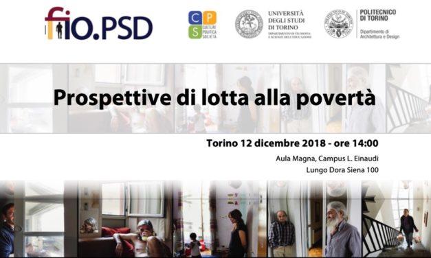 Turin 12 Décembre – Les perspectives de lutte contre la pauvreté