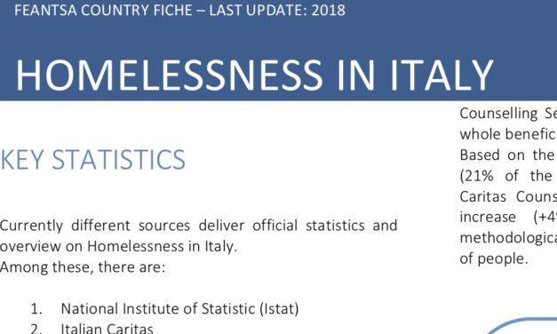 Fiche pays Italie 2018