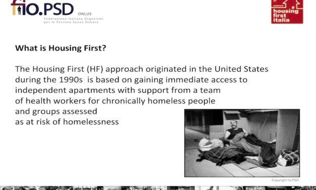 Le logement d'abord en Italie – Principes de base, Evaluation et résultats