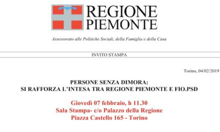 7 February 2019 – Turin, Protocol of Understanding signed