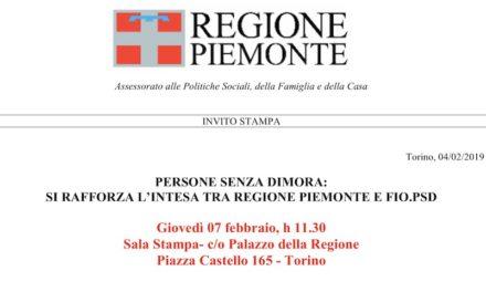 7 febbraio 2019 – Torino, firma protocollo d'intesa