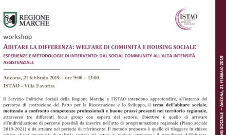 """21 February – Ancona: """"Living the difference"""""""