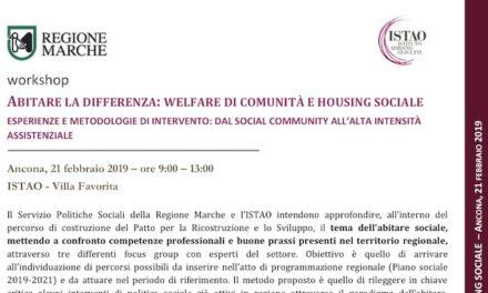 """21 febbraio – Ancona: """"Abitare la differenza"""""""