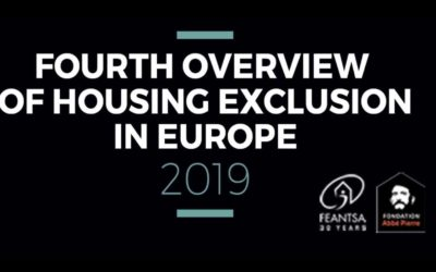 IV panoramica su Housing Exclusion in Europe