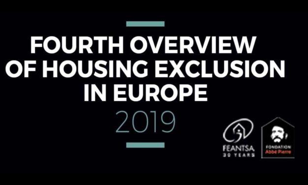 IV panoramica su l'exclusion du logement en Europe