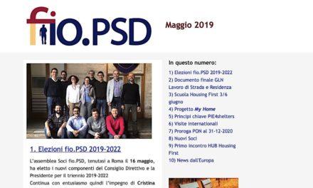 Newsletter fio.PSD – Maggio 2019