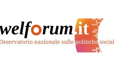 """Welforum – 6 maggio 2019, """"Reddito di Cittadinanza e Senza Dimora"""""""