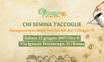 22 Juin – Rome, Inauguration des jardins sociaux