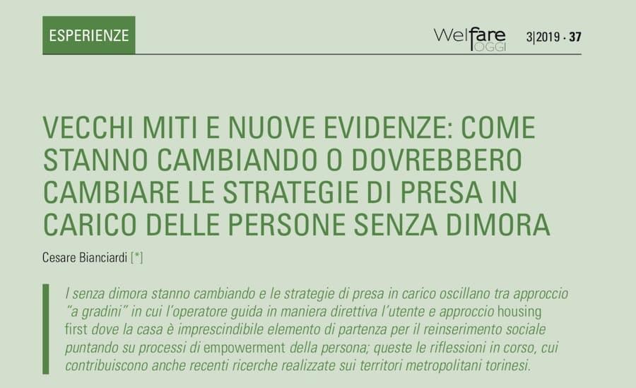 Welfare Today - 3/2019 - FIO  PSD