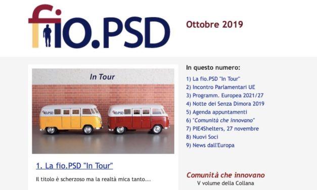 Newsletter fio.PSD – Ottobre 2019