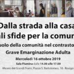 16 Ottobre, Rovigo – Dalla strada alla casa….