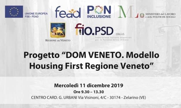 10 e 11 Dicembre, Zelarino (VE) – Prog. DOM Veneto