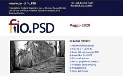Newsletter fio.PSD – Maggio 2020