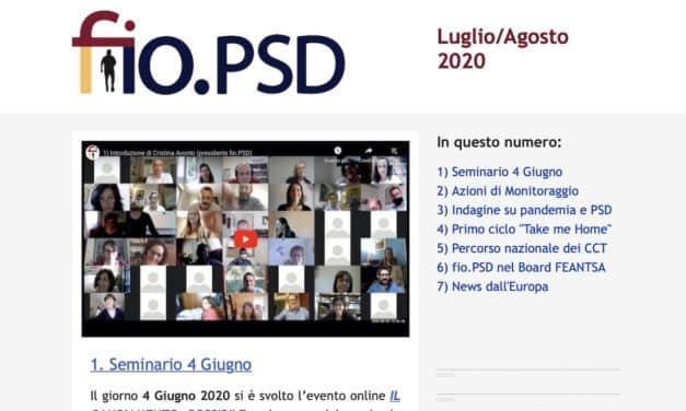 Newsletter fio.PSD – Luglio/Agosto 2020