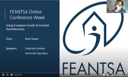 fio.PSD alla Feantsa (Online) Conference 2020