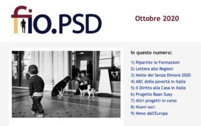 Newsletter fio.PSD – Ottobre 2020