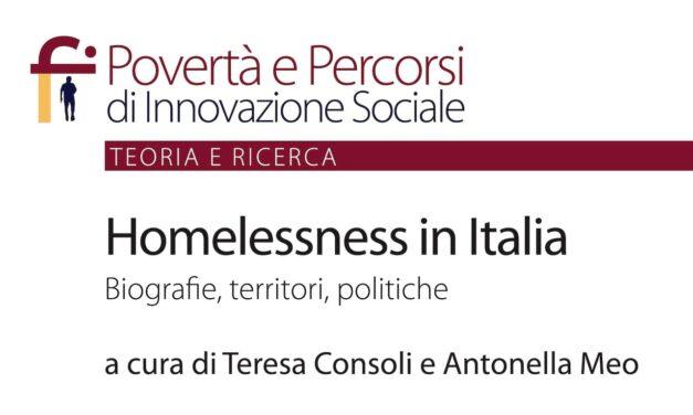 Homelessness in Italia – VI volume della Collana