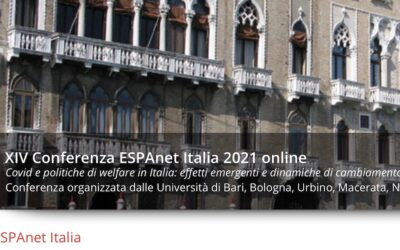 Call for paper – ESPAnet Italia (sessione 31) – Vite in strada
