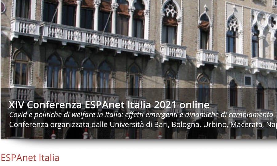 Call for paper – ESPAnet Italia (sessione 31) – Vite in strada