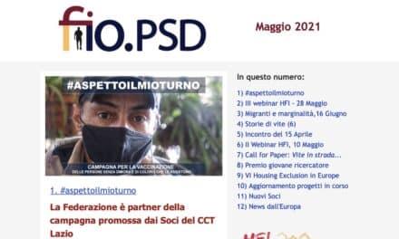 Newsletter fio.PSD – Maggio 2021