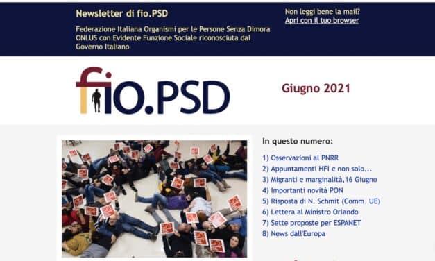 Newsletter fio.PSD – Giugno 2021