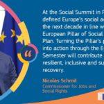Risposta dal Comm. UE Nicolas Schmit