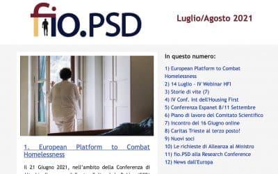 Newsletter fio.PSD – Luglio/Agosto 2021